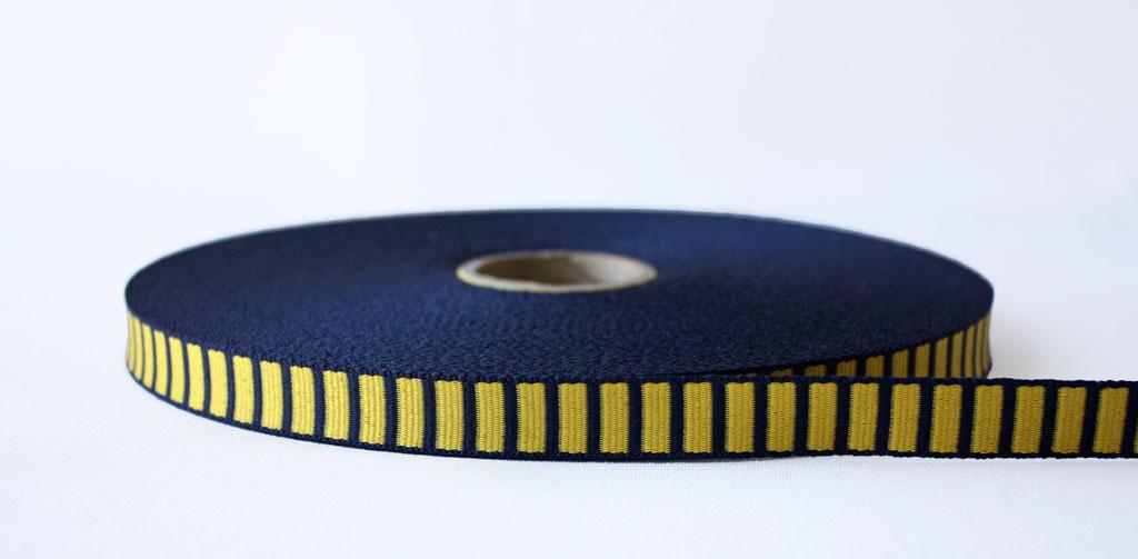 Uneven Polyester Block Braid