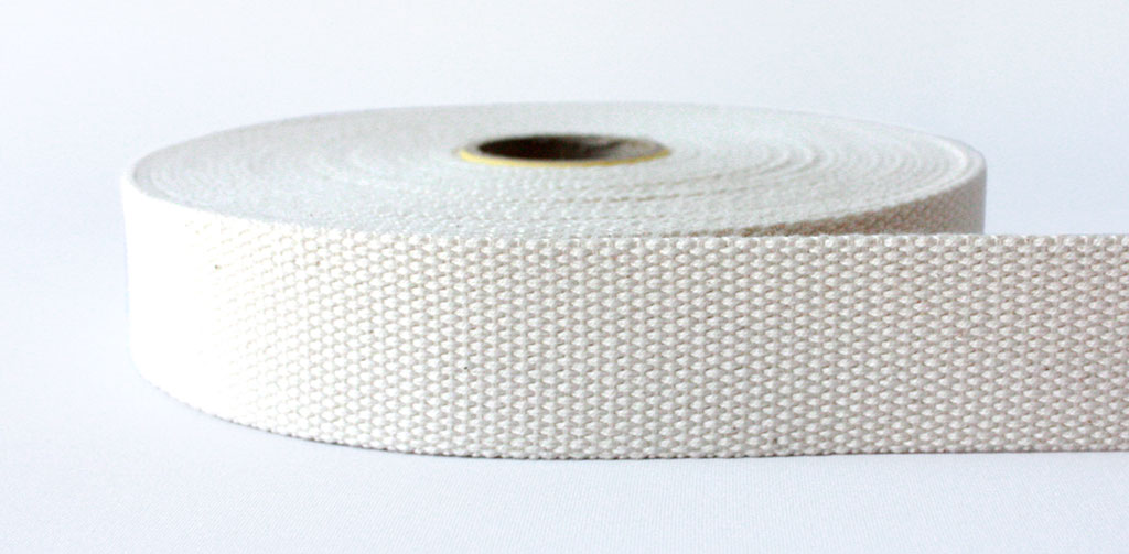 100% Natural Cotton Webbing