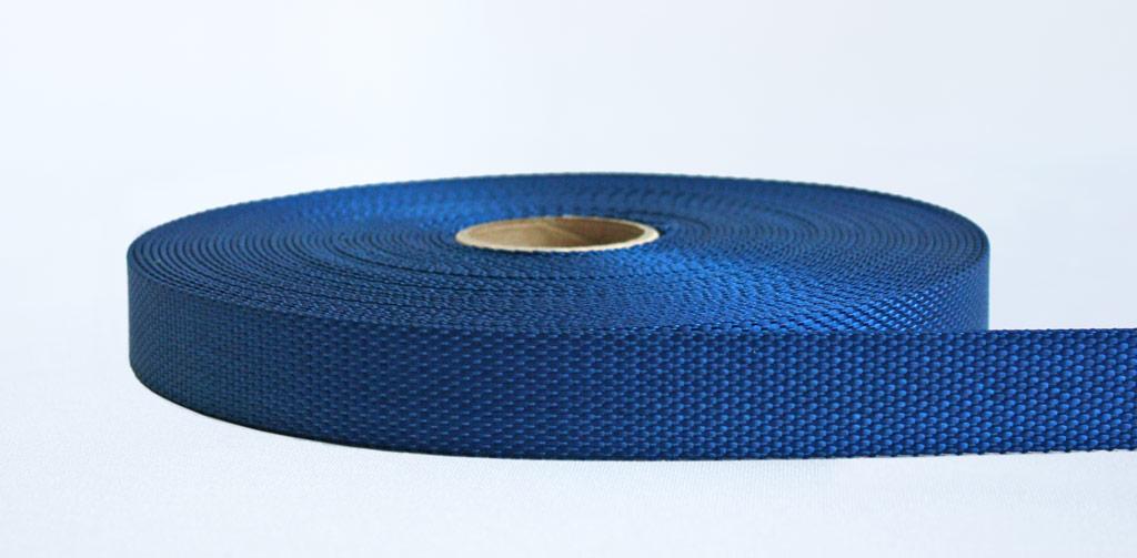 25mm-2 Ton Industrial Webbing Blue - Weavewell