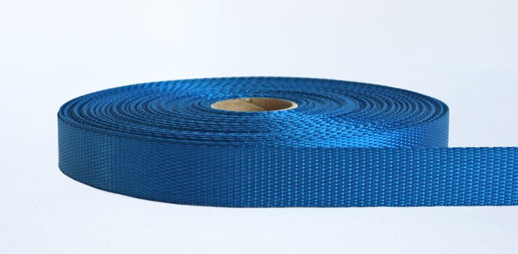 25mm-700kg Industrial Webbing Blue - Weavewell