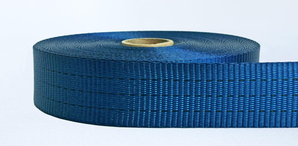 50mm-3 Ton Industrial Webbing Blue - Weavewell