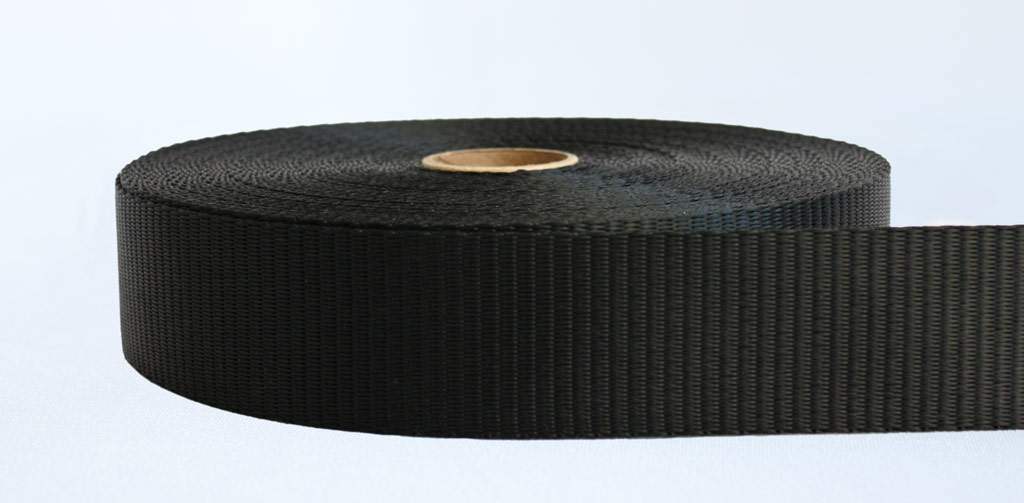 50mm-4 Ton Industrial Webbing Black - Weavewell