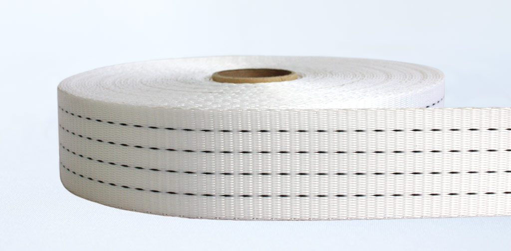 50mm-4 Ton Industrial Webbing Soft White - Weavewell