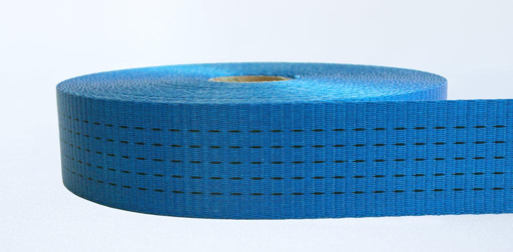 50mm-5 Ton Industrial Webbing Pigment Blue - Weavewell