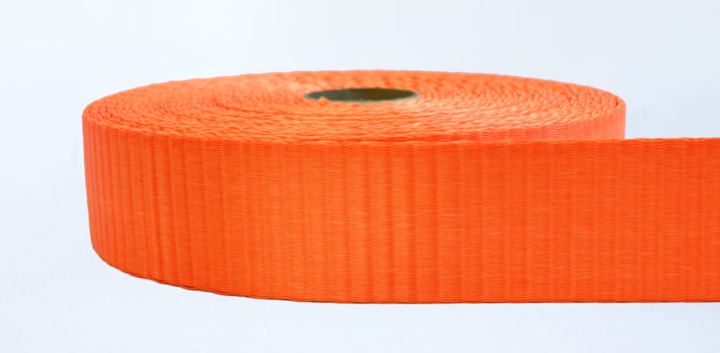 50mm 6 Ton Webbing Orange - Weavewell