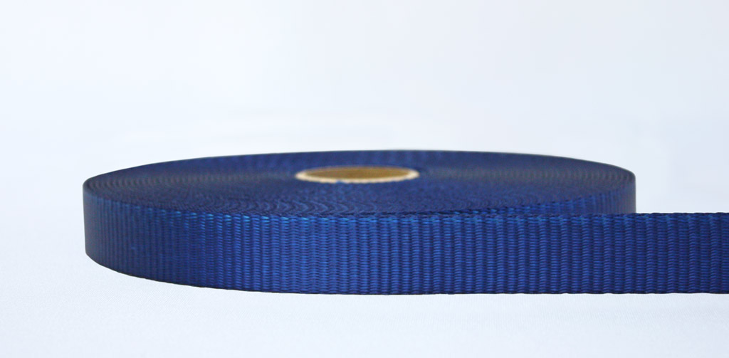 25mm-2.5 Ton Industrial Webbing Blue - Weavewell